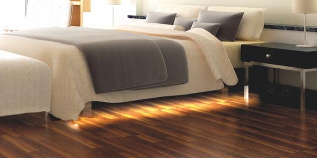 LED-Unterbettbeleuchtung mit Bewegungsmelder