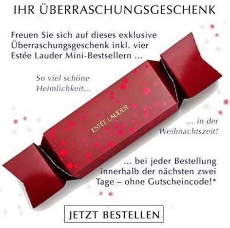 Bei Estee Lauder bestellen und Überraschungsgeschenk + weitere Goodies + VSK-frei