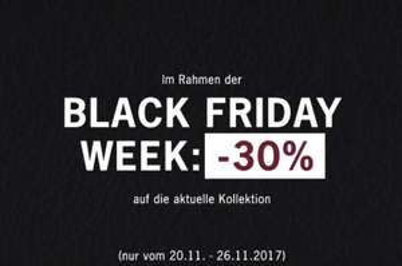 30% Rabatt auf die gesamte Kollektion von Ben Sherman bis 26.11.- Black Friday Week