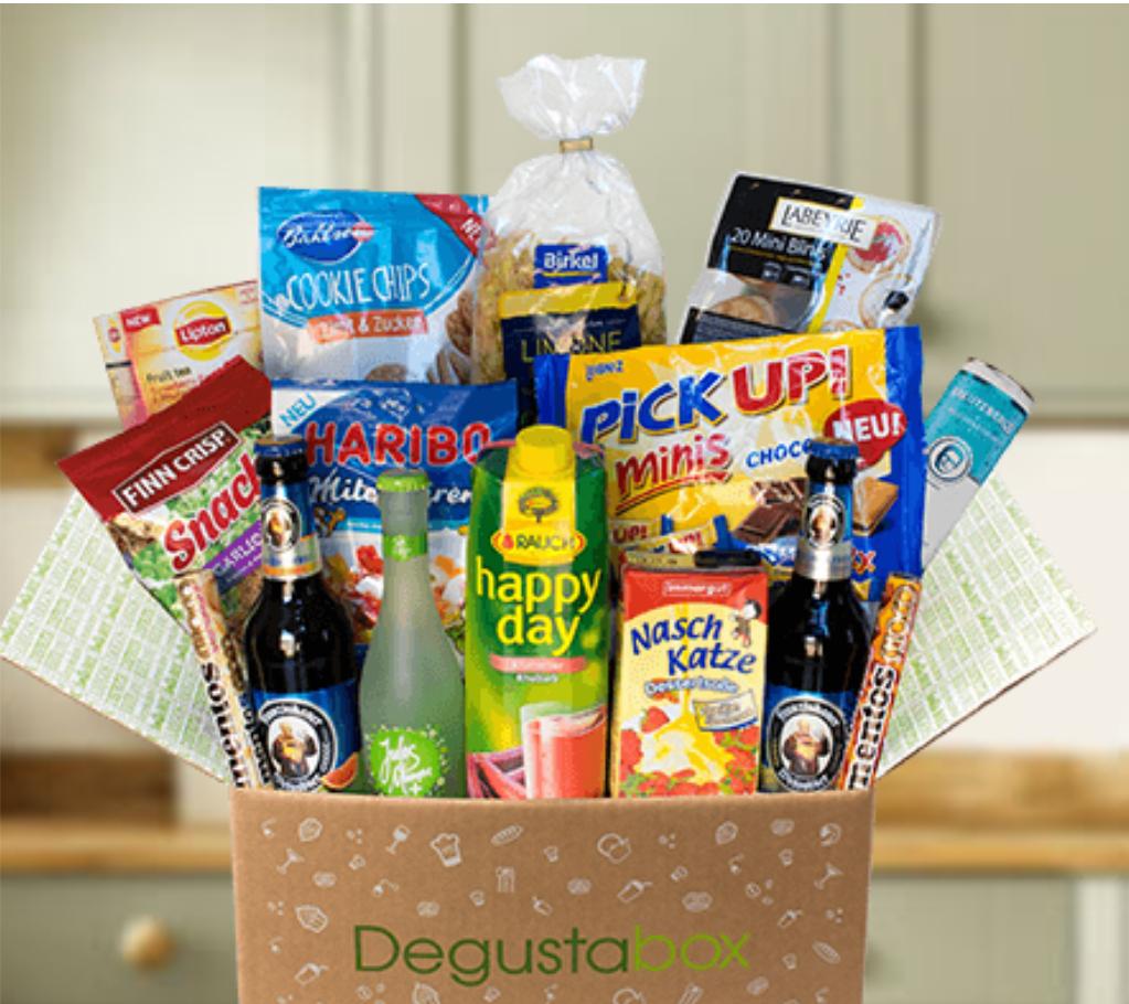 !Nur noch heute! Degusta-Box plus 2 Extra-Artikel für nur 7,99 €