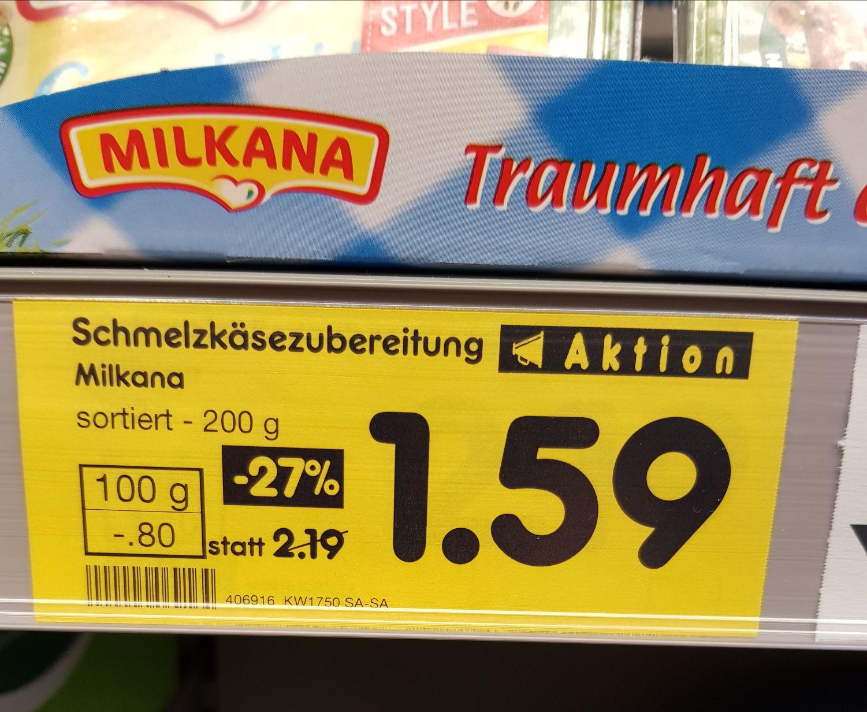 [Netto MD Delmenhorst] Milkana Schmelzkäse verschiedene Sorten im Angebot. Durch die Aktion von Foto Quelle könnt Ihr Euch so ein Fotopuzzle (20x30cm) im Wert von 10,94€ für nur 1,59€ sichern.