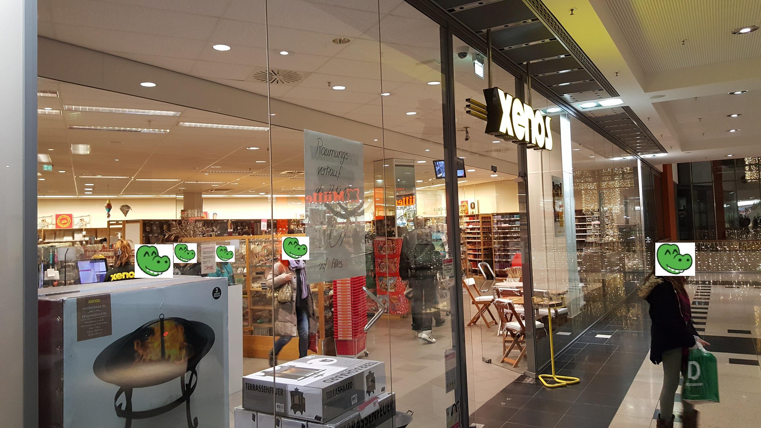 [LOKAL] Gießen - Galerie Neustädter Tor: Xenos Räumungsverkauf 50 % auf ALLES ab 27.12.17