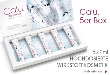 Calu - hochwertiges Naturkosmetik Testpaket mit fünf Produkten gratis