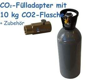 [eBay] SodaStream selbst befüllen - Adapter + 10 kg Gasflasche