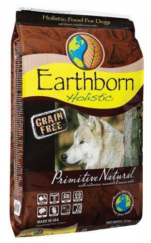 2,5 kg Hundefutter Earthborn  50% günstiger und 5 € Gutschein!
