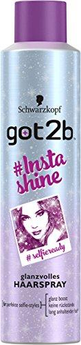 [AMAZON Plusprodukt] Got2b #Instashine Haarspray, 6er Pack (6 x 300 ml)