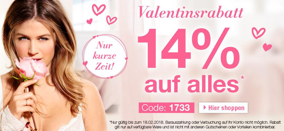 [Ulla Popken] 14% Valentinsrabatt auf alles