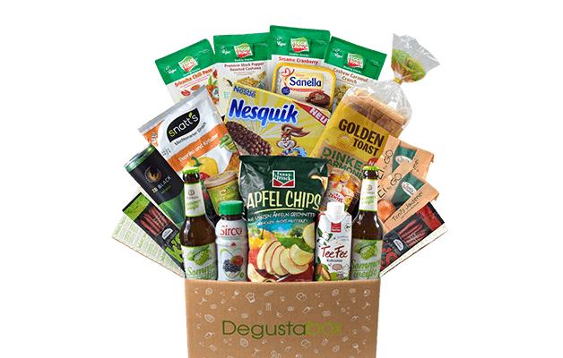 Degustabox Geschenkabo: 6 für 4 Monate oder 3 für 2 Monate