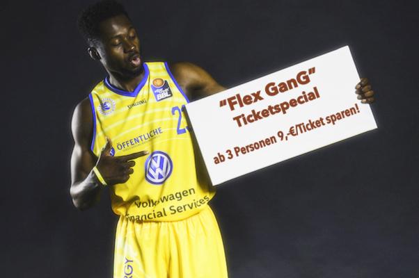 Basketball Löwen Braunschweig Dennis Schröder FlexGanG Special