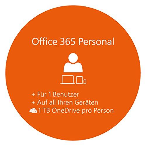 [AMAZON] Microsoft Office 365 Personal 1 PC/Mac 1 Tablet 1 Handy 1 Jahresabonnement