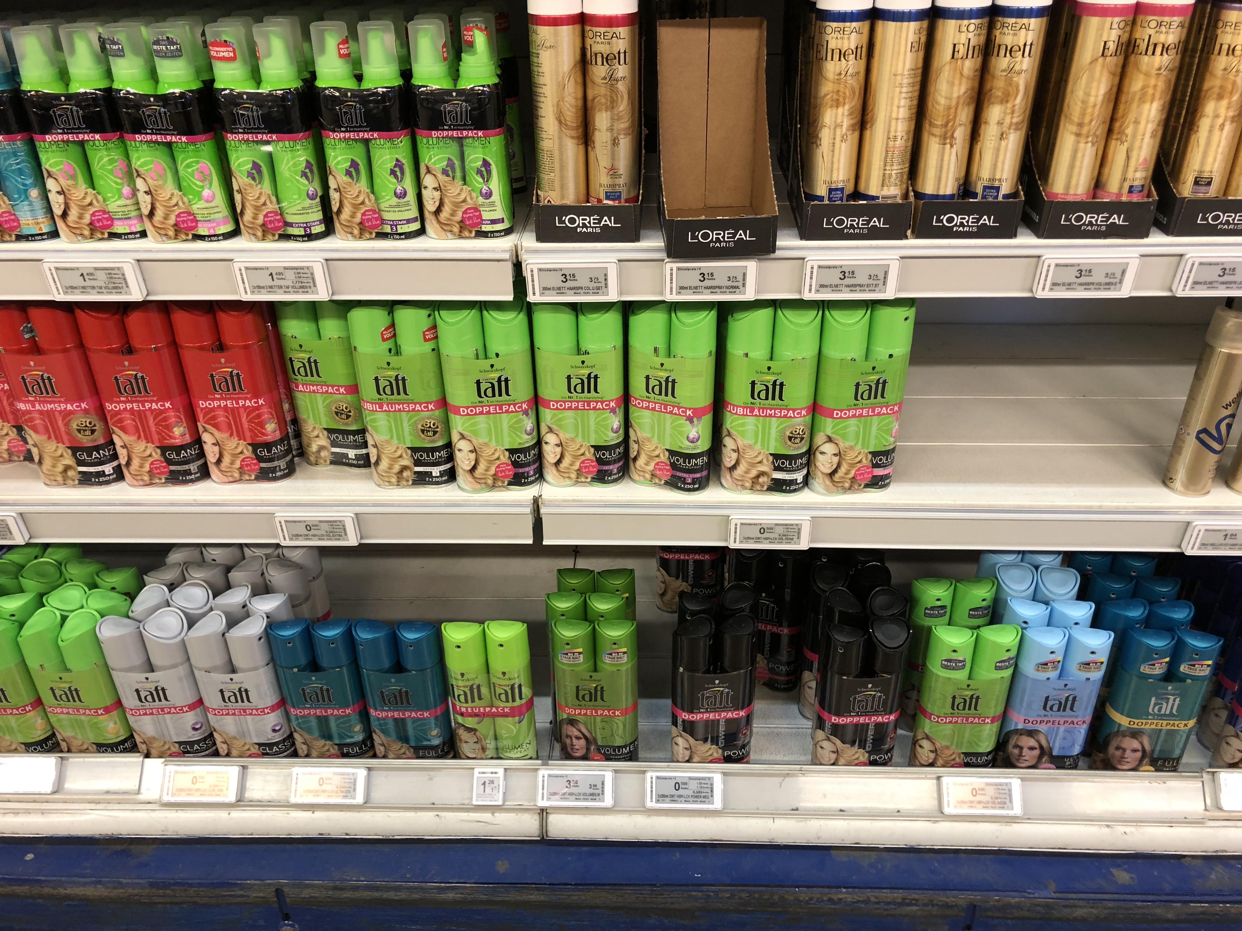 Schwarzkopf 3 Wetter Taft Haarspray Doppelpack 2 x 250 ml # Diverse Sorten # Metro #
