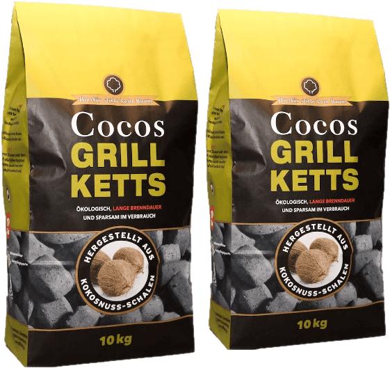 20kg Cocos Grillketts für 24,99€ (statt 30,80) - versandkostenfrei!