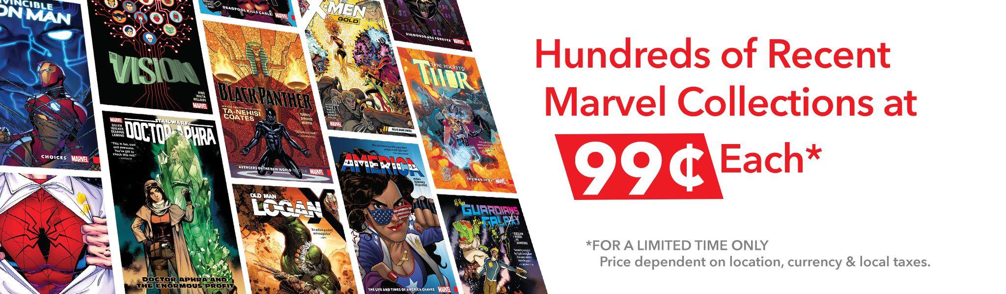 Hunderte Marvel Collections für je 89 Cent (Digital)