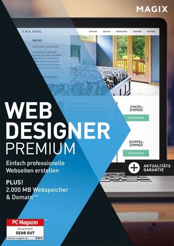 45% Rabatt auf Magix Web Designer 12 Premium