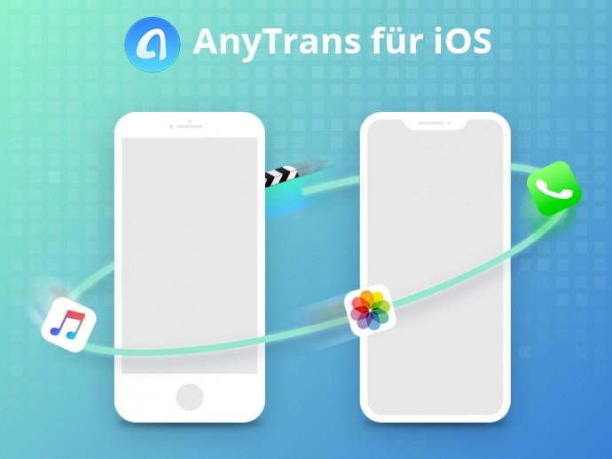 Gratis-Vollversion: AnyTrans iPhone Manager Alternative zu iTunes