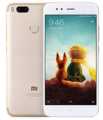 Xiaomi Mi A1 mit Band 20 - Versanddauer 7-12 Werktage (5,5 Zoll, Snapdragon 625 Octa Core, 4GB RAM, 64GB ROM) - Gearbest