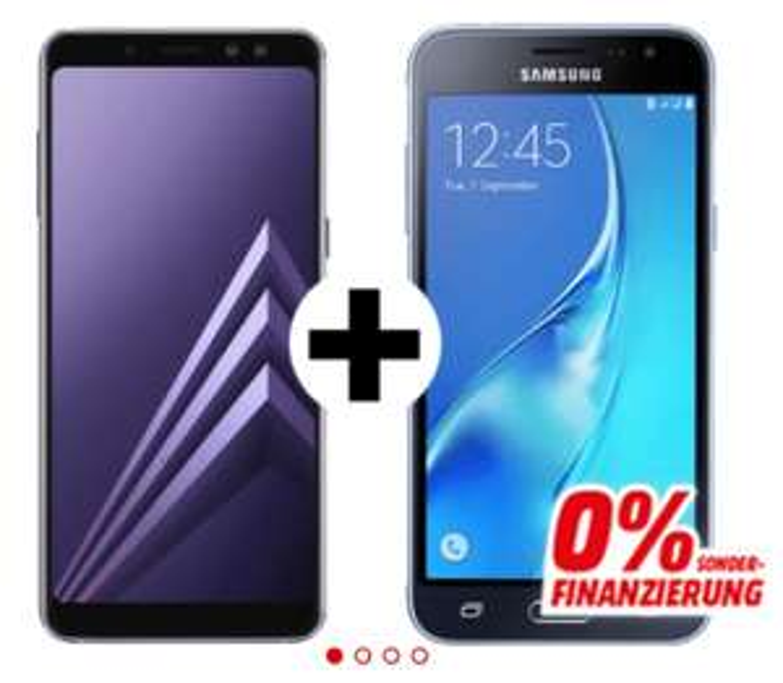 MM.at: SAMSUNG Galaxy A8 (2018) kaufen und Galaxy J3 gratis bekommen