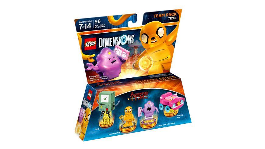 """LEGO Dimensions """"Team Pack Adventure Time"""" und weitere [Müller.de]"""