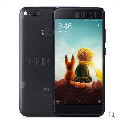 Xiaomi Mi A1 mit Band 20 (5,5 Zoll, Snapdragon 625 Octa Core, 4GB RAM, 32GB ROM) - Gearbest