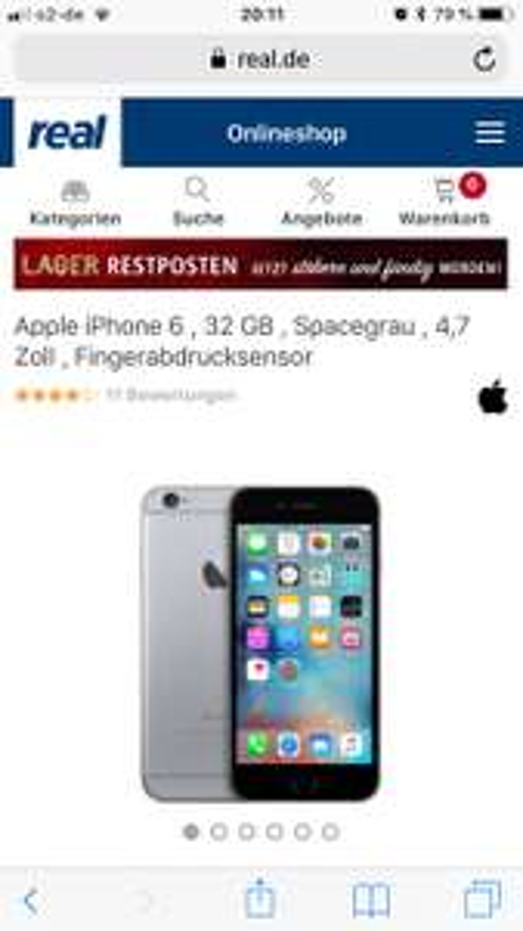 IPhone 6 mit Rabattcode spar5