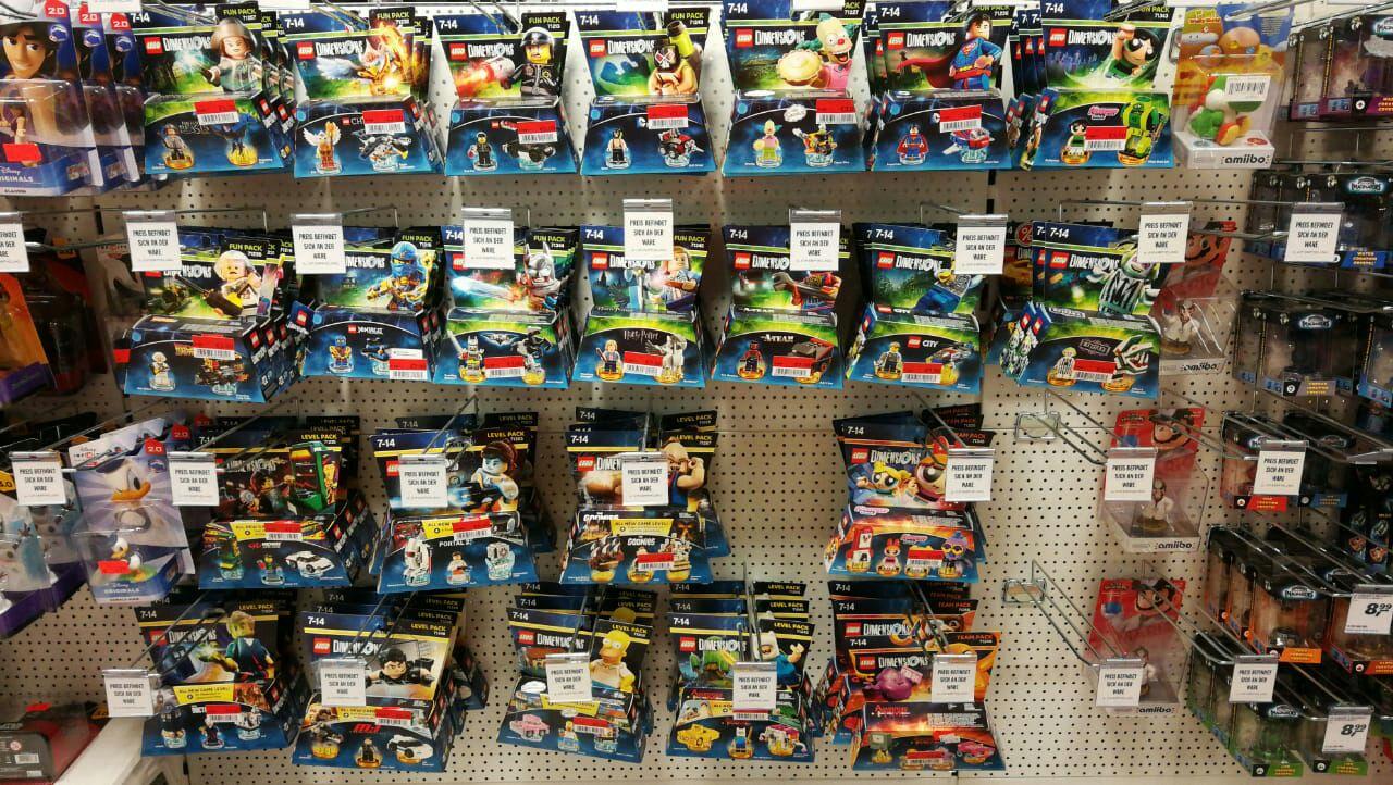LOKAL MAINZ Lego Dimensions Rausverkauf