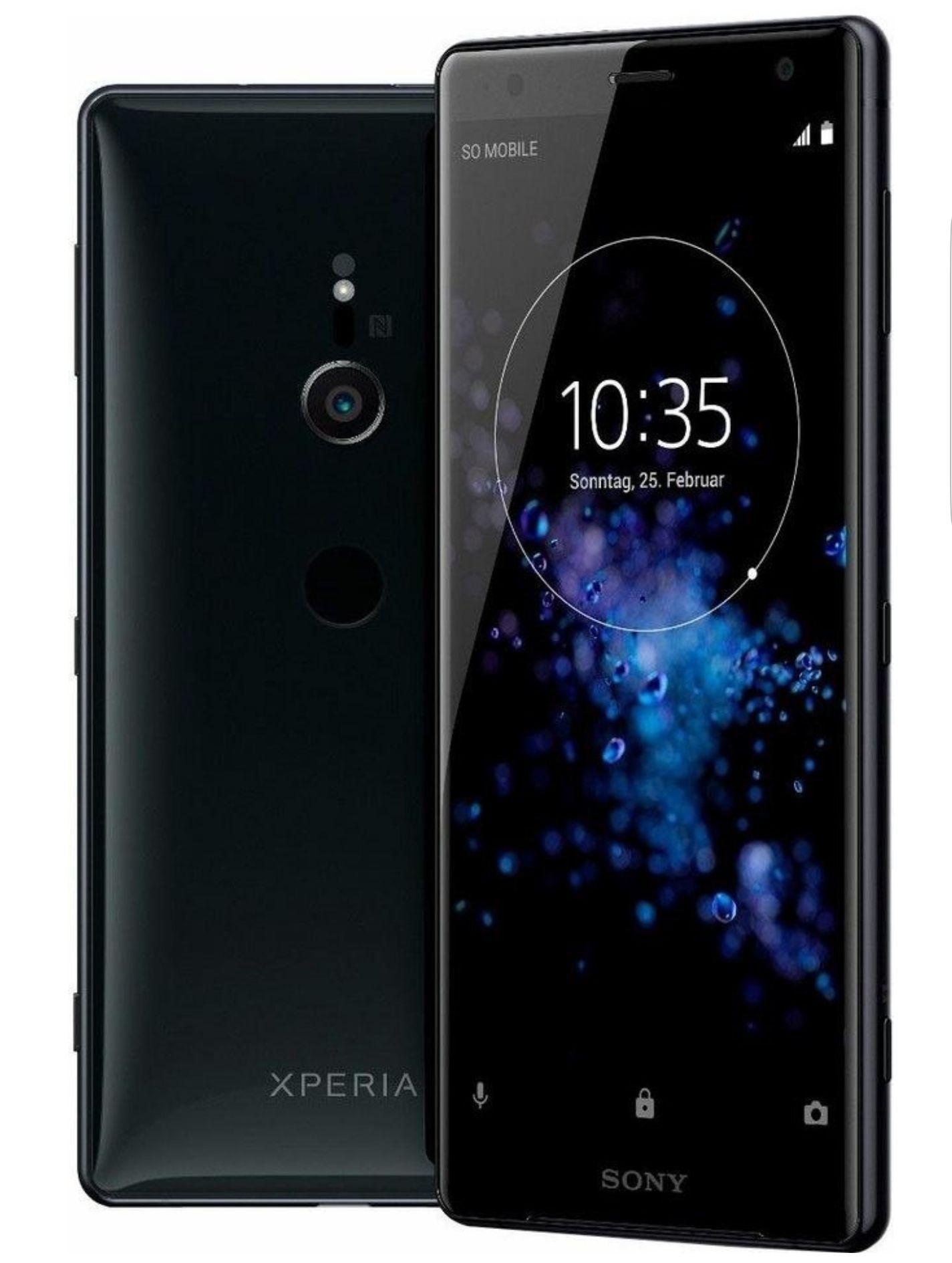 Sony Xperia XZ2 Single Sim Liquid Black / silver (Clevertronic)