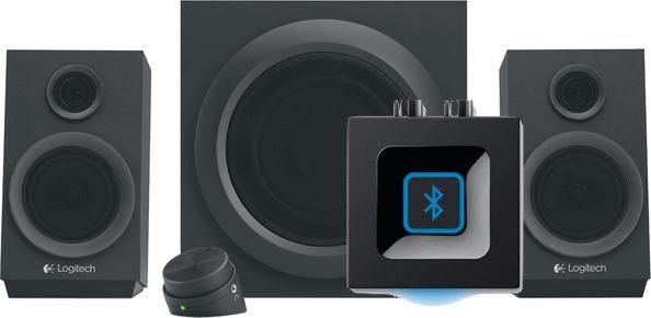 Logitech Z333 Lautsprecher + Logitech Bluetooth Audio Adapter für 44€ [Mediamarkt]