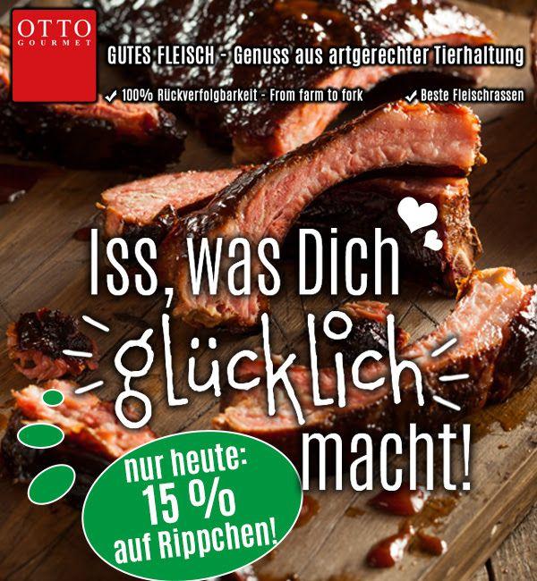 Nur heute 15% auf alle Rippchen bei Otto-Gourmet.de