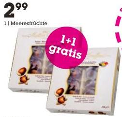 [Mömax] Maître Truffout - Belgische Meeresfrüchte 2x250g (2für1) für nur 2,99€