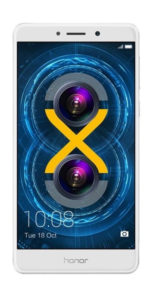"Honor 6X 32GB 3GB RAM Silber [13,97cm (5.5"") FullHD-Display, 2.1GHz OctaCore-CPU, 12MP Dual-Kamera]"