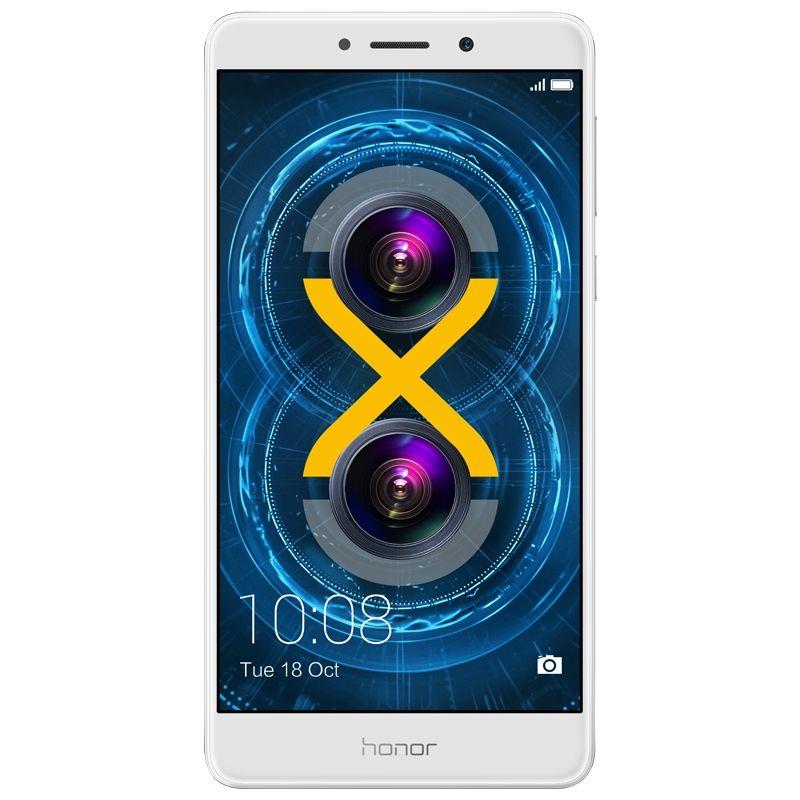 "Huawei Honor 6X Silber Dual-Sim 32/3GB 5.5"" FHD 12MP 3300mAh Android 7.0 [Cyberport]"