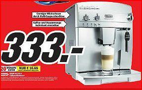 [lokal MM Alzey]Delonghi ESAM 04.320.s Kaffeevollautomat für 333€ (statt 433€)und Krups EA 9000 Barista für 999€ (statt 1112€)