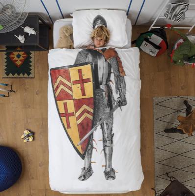Kinderbettwäsche von Snurk reduziert + 5€-Gutschein bei Monoqi, z.B. Bettwäsche-Set Knight