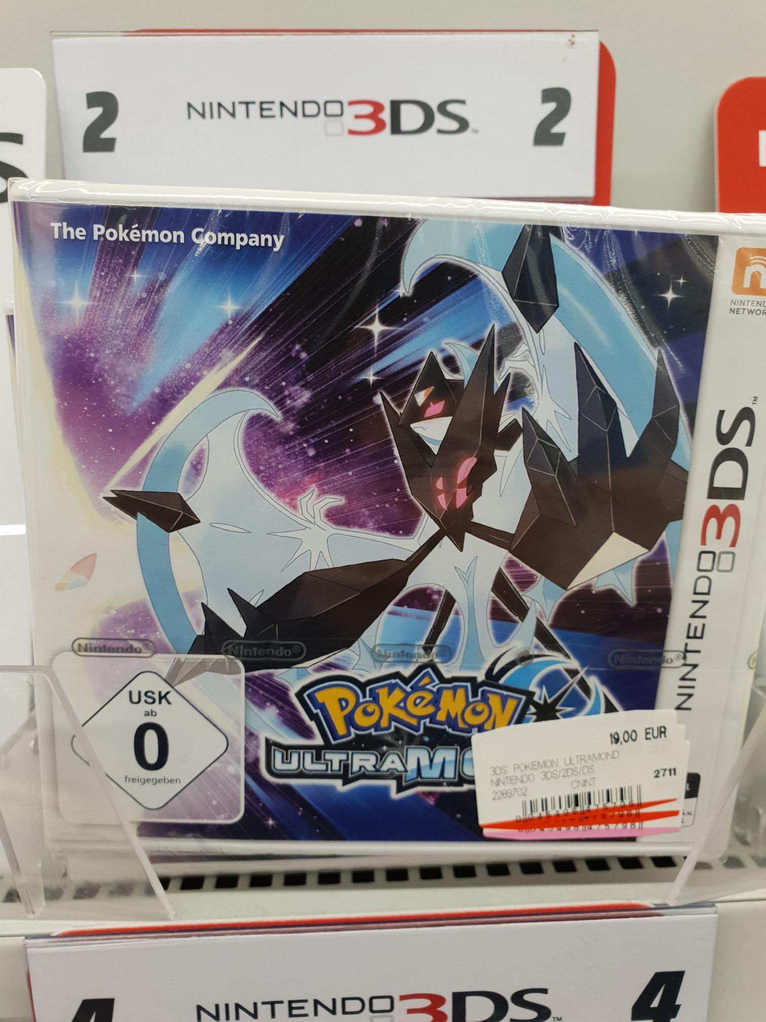 [Lokal MM Dortmund Hörde] Pokemon: Ultrasonne / Ultramond 19€