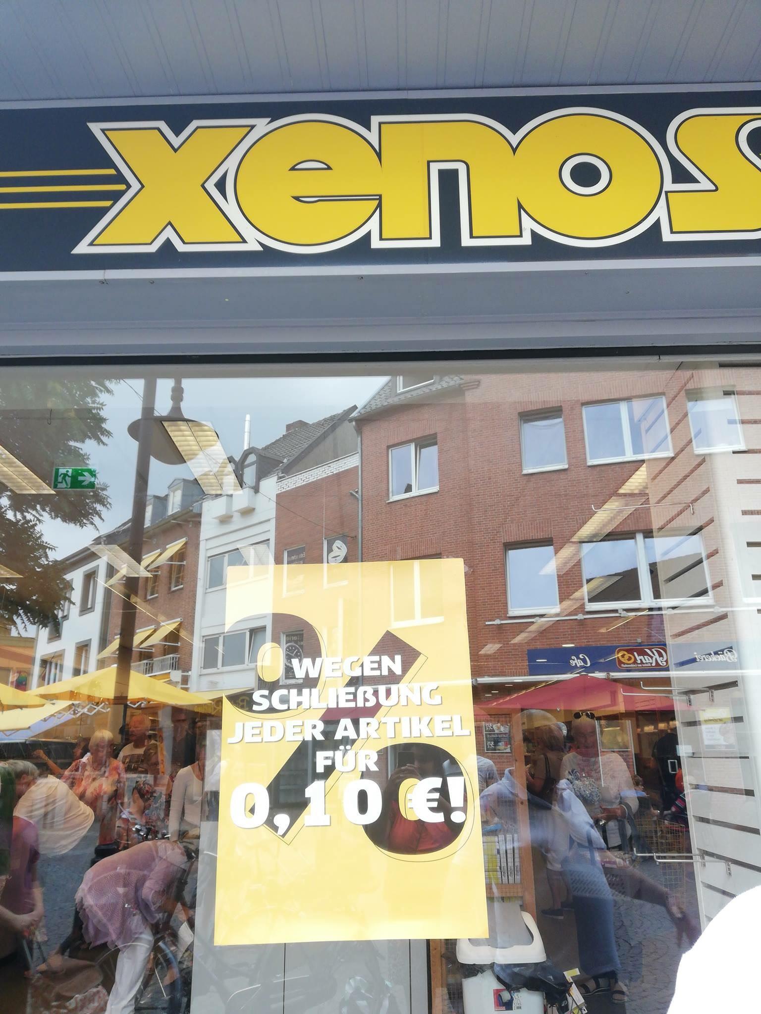 [LOKAL KLEVE] XENOS - Alle Artikel 0,10 EUR
