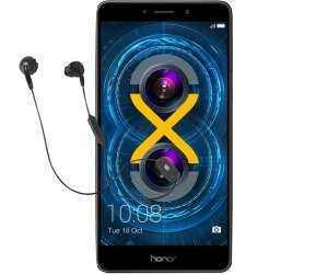 HONOR 6X 32 GB Gold Dual SIM + JBL Kopfhörer Inspire 500 für 129€ [Mediamarkt]