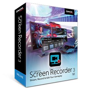 Cyberlink Screen Recorder 3 SE - zur Gamescom kostenlos