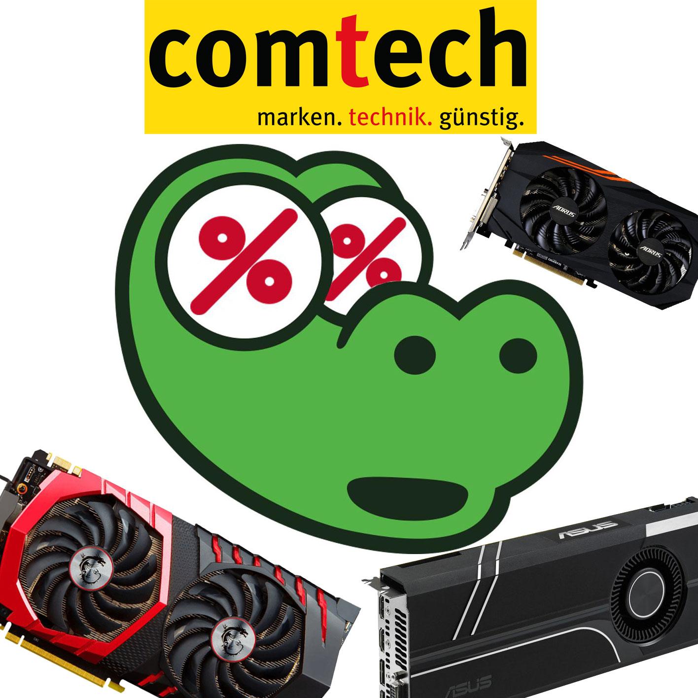 Gaming Superweekend: z.B. RX570 4GB für 200€, GTX 1060 6GB für 255€ bzw. 3GB für 206€ und GTX 1080 8GB für 450€