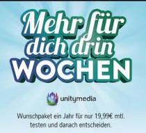 Unitymedia 2play Fly 400 für effektiv 23,32€ /// 2play JUMP 150 + TV für effektiv 28,31€ und 2play FLY 400 + TV für effektiv 38,31€ durch 220€ Auszahlung *UPDATE*  weitere gute Hardwarepreise