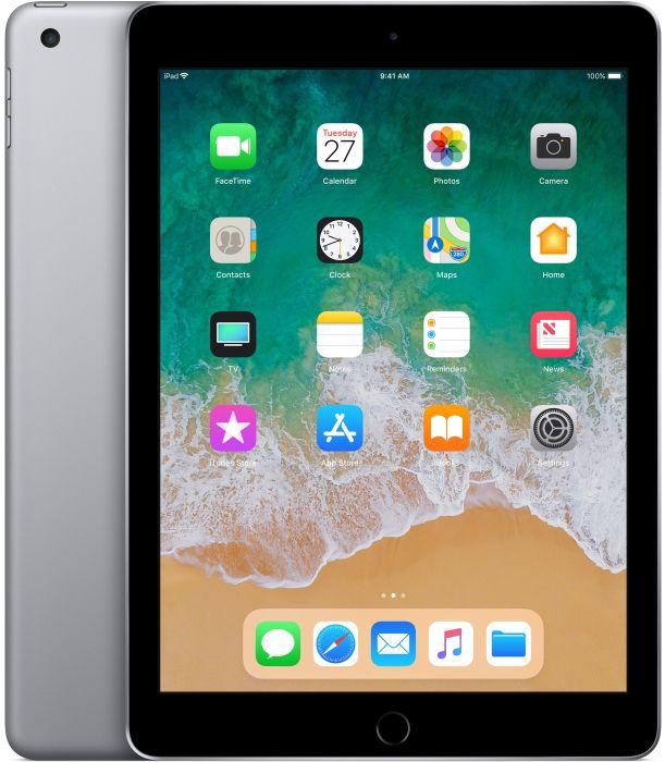 [gravis@eBay]  Apple iPad 128GB Wi-Fi in spacegrau (6. Generation / 2018, MR7J2FD/A)
