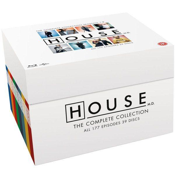 DR. House Blu ray Komplettbox mit allen Folgen
