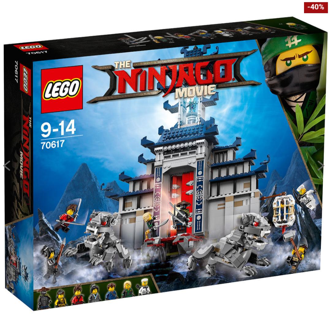 Lego Ninjago 70617 Ultimativ ultimatives Tempel-Versteck [Karstadt]