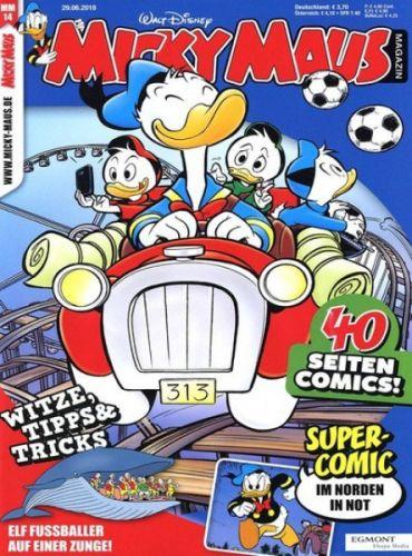 [Gruner + Jahr] Micky Maus Abo (26 Ausgaben) für 90€ mit 40€ Amazon-Gutschein