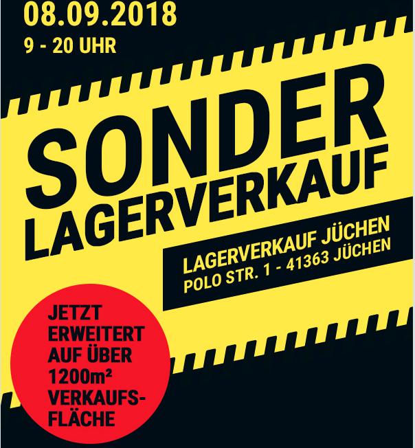 [lokal] Polo Motorrad Sonder-Lagerverkauf am 08. September in Jüchen
