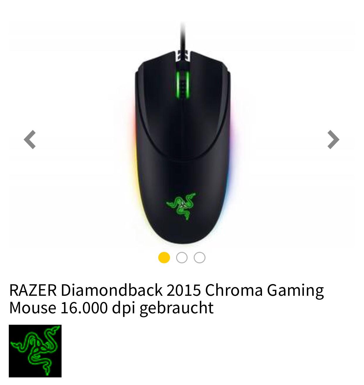 RAZER Diamondback 2015 Chroma Gaming Mouse
