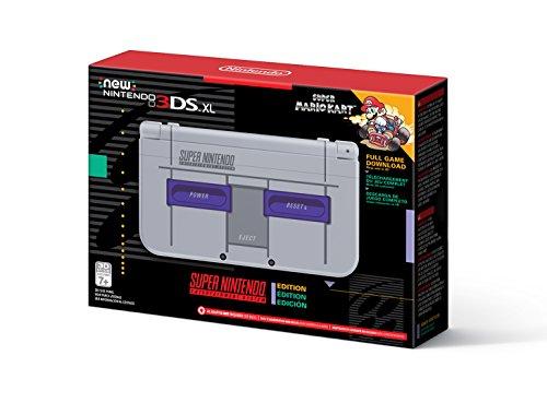 Nintendo New 3DS XL Super NES Edition + Super Mario Kart für SNES (Amazon US)