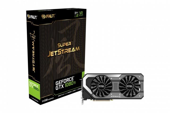 Palit GeForce GTX 1080 Ti JetStream 11GB Grafikkarte + kostenloser Versand + Shoop