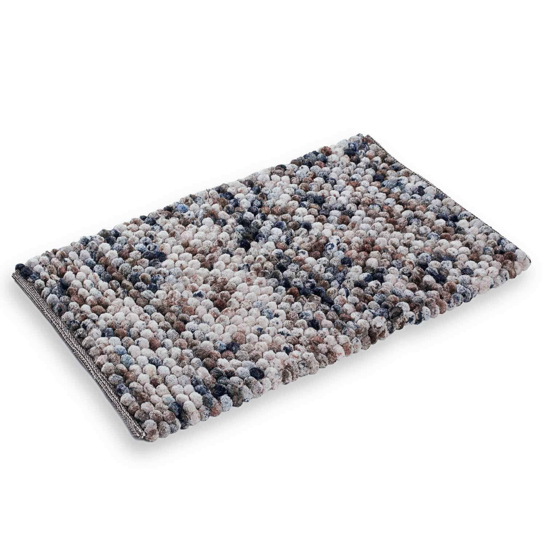 Etérea Badvorleger Vani 50×80 cm im Blau, Beige und Grau für 27.85€ inkl. Versand