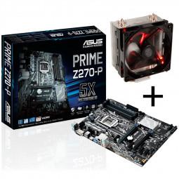 ASUS PRIME Z270-P Mainboard + Cooler Master Hyper 212 LED CPU-Kühler für 93,89€ [Caseking]