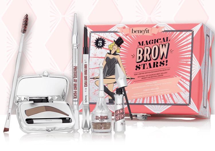 Benefit Cosmetics: Magical Brow Stars + Armband + 2 Proben